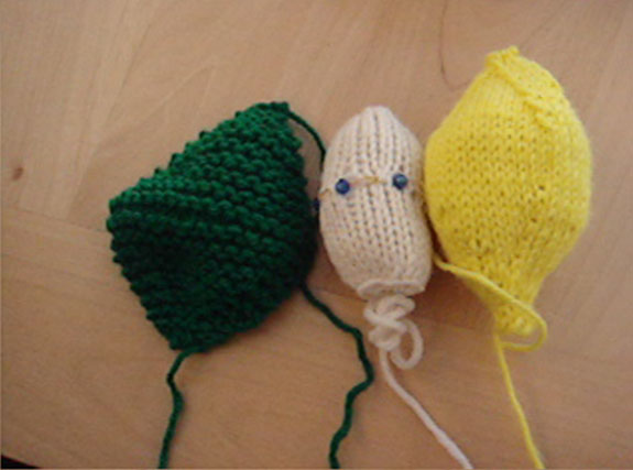 knitted forms